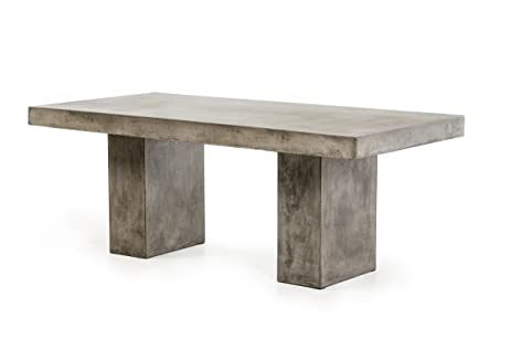Amazoncom VIG Furniture Modrest Saber Collection Modern - Rectangular concrete coffee table