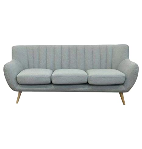 Fabulous Amazon Com Lilly 3 Seater Sofa Light Grey Kitchen Dining Cjindustries Chair Design For Home Cjindustriesco