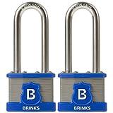Best BRINKS Outdoor Securities - Brinks 677-44202 44mm Laminated Steel Commercial Grade Lock Review