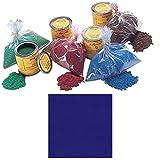 Medium Blue Suede-Tex Fibers, 3