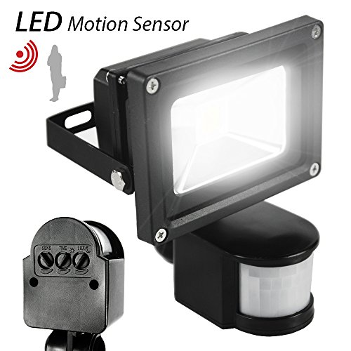 Motion Sensor Flood Light Waterproof Security Safety Led Lights Indoor Outdoor Ebay