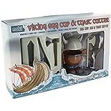 Paladone Coquetier Viking et emporte-pièce pour toast, Multicolore