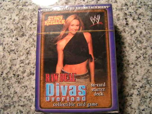 WWE WWF Wrestling Raw Deal CCG TCG Starter Theme Deck -- STACY KEIBLER Edition by Comic Images -- Raw Deal Trading Card Game