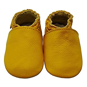 Mejale Baby Summer Shoes Soft Soled Leather Moccasins Infant Walker Sandals Watermelon Pink