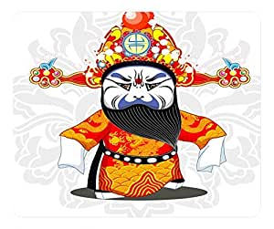 Beijing Opera Design Rectangular Mouse Pad Dragon Python