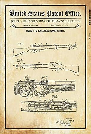 Amazon.com: Bidesign 1932 - Cartel de chapa con texto en ...