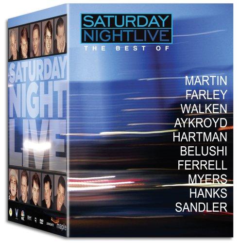 Saturday Night Live - The Best Of Steve Martin / Chris Farley / Christopher Walken / Dan Aykroyd / Phil Hartman / John Belushi / Will Ferrell / Mike Myers / Tom Hanks / Adam Sandler (Saturday Night Live The Best Of Tom Hanks)