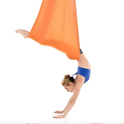 Amazon.com : Lady Aerial Yoga Hammock Reverse Gravity ...
