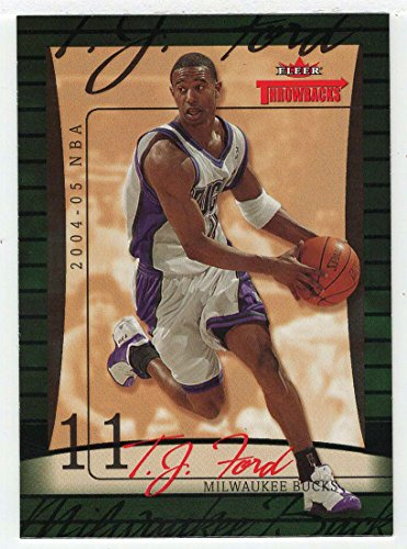 T.J. Ford (Basketball Card) 2004-05 Fleer Throwbacks # -