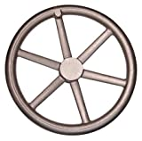 20.00'' Dia. X 3 7/8'', 6 Spoke Dished/Offset, Blank, Cast Iron, HandWheel (1 Each)