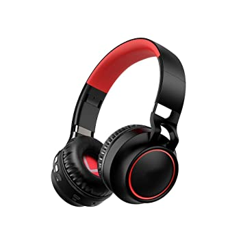 XAJGW Auriculares Bluetooth Auriculares inalámbricos por encima del oído Auriculares inalámbricos inalámbricos Auriculares inalámbricos plegables Micrófono
