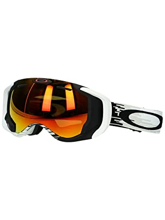 oakley bluetooth goggles  Amazon.com : Oakley Men\u0027s Airwave Snow Goggles, Large, White, Fire ...