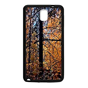 Autumn Forest Black Phone Case for Samsung Galaxy Note3