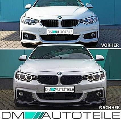 Dm Autoteile Für 4er F32 F33 F36 Passend Kühlergrill Schwarz Glanz Doppelsteg Auch M M4 Bj 13 18 Auto