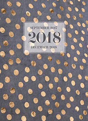 2018 Gold Dots Monthly Planner