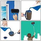 Paint Roller Brush Kit GOCHANGE 9PCS Wall