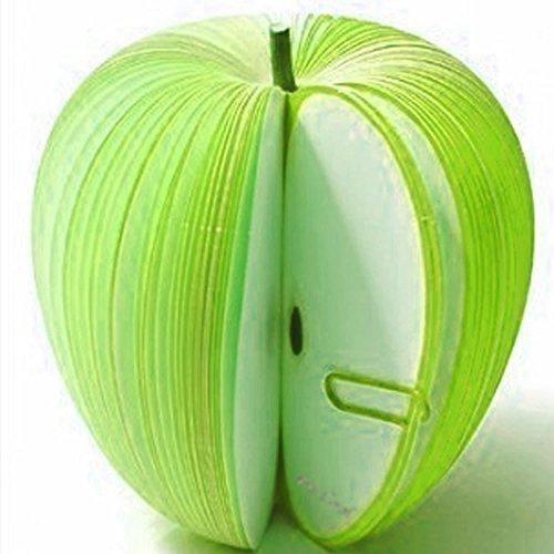 もぎ取って使う フルーツ メモ帳 癒しステーショナリー SilverCoral ( 青リンゴ )
