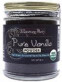 Wilderness Poets Pure Vanilla Powder - Organic Vanilla Bean Powder - Tahitian Variety (4 Ounce)