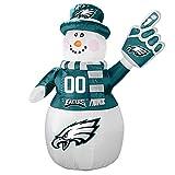 NFL Philadelphia Eagles Inflatable Snowman, 7ft