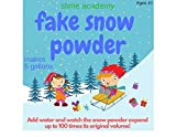 Slime Academy Instant Snow Powder Makes 10 Gallons of Fake Snow
