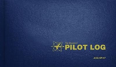 Standard Pilot Log Navy Blue (Standard Pilot Logbooks) from Aviation Supplies & Academics, Inc.