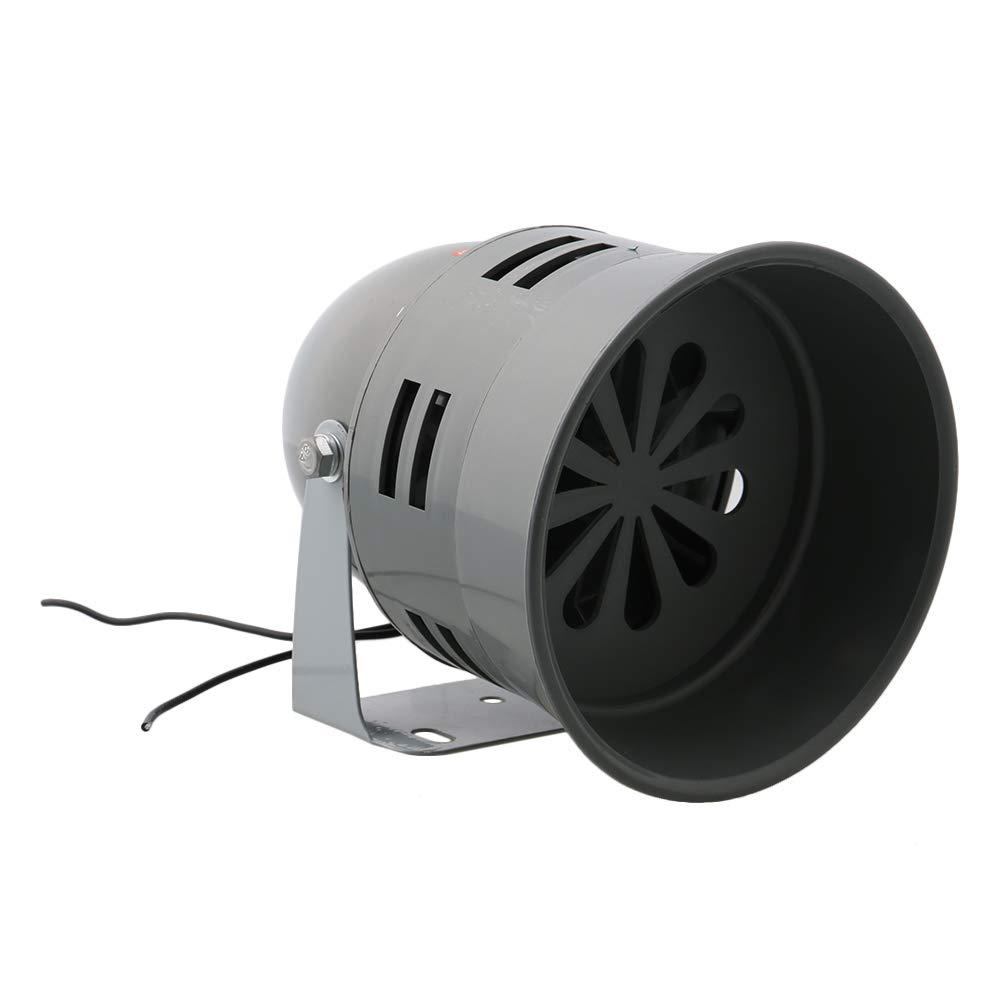 Mxfans AC12V MS-290 120dB Plastic Mini Motor Siren Sound Alarm Industrial Tool