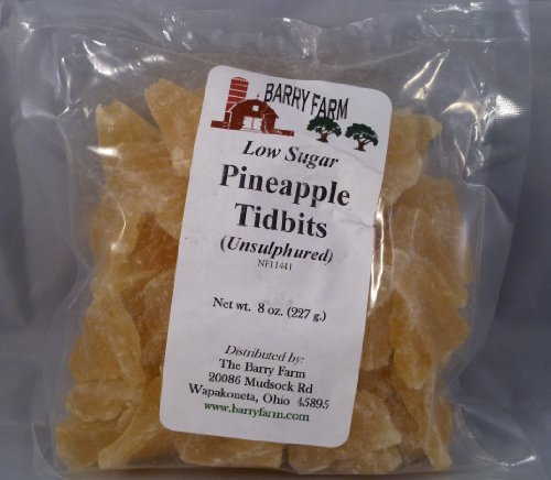 Dried Pineapple Tidbits 8 oz product image