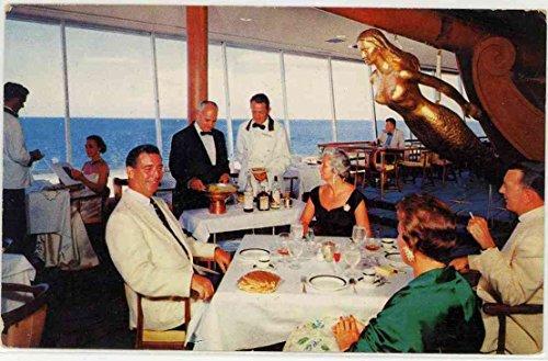 Gourmet Dining Room - Yankee Clipper Hotel - Fort Lauderdale Florida (Vintage Postcard) (Hotel Fort Lauderdale Florida)