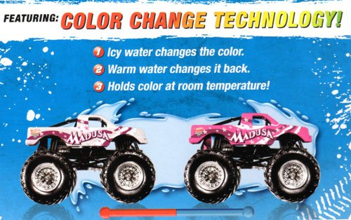 MADUSA Hot Wheels Monster Jam Color Shifters Edition 1:64 ...