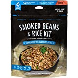 Bannock Smoked Beans and Rice w/ Chicken - 2.5 Servings / Pouch - Gluten Free Freeze Dried Camping, Hiking & Backpacking Meal - Cook In Pouch Camp Food