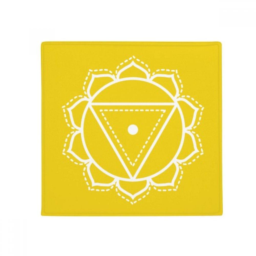 DIYthinker Totem Pattern Triangle Flower Anti-Slip Floor Pet Mat Square Home Kitchen Door 80Cm Gift