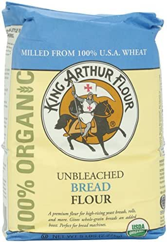 Flours & Meals: King Arthur Organic Bread Flour