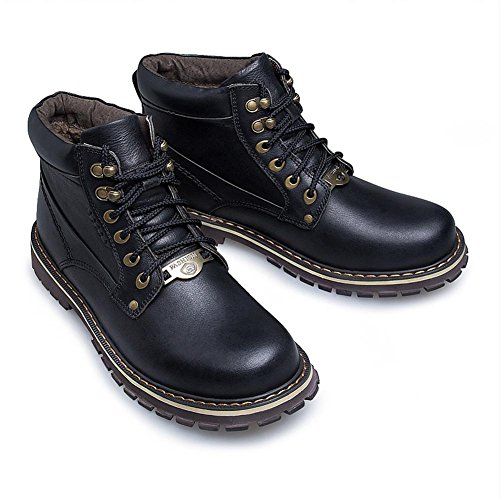 di antiscivolo resistente Tendenza cotone 39 stivali all'usura di grandi morbida black e xHwHTUX