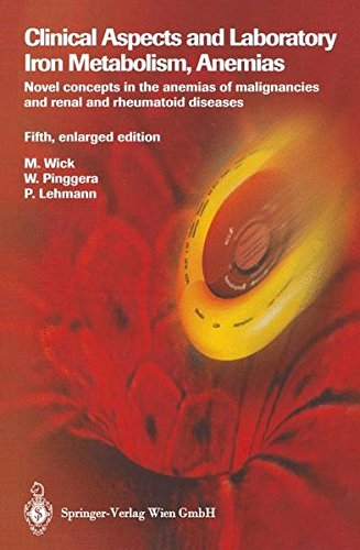 Clinical Aspects and Laboratory. Iron Metabolism, Anemias: Novel concepts in the anemias of malignancies and renal and rheumatoid diseases