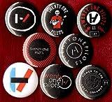 21 PILOTS 8 NEW 1 inch pins button badge twenty one pilots emo