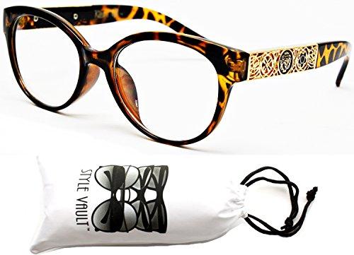 E3001-VP Style Vault Clear Lens Rounded Eyeglasses Sunglasses (5360 - Rounded Eyeglasses