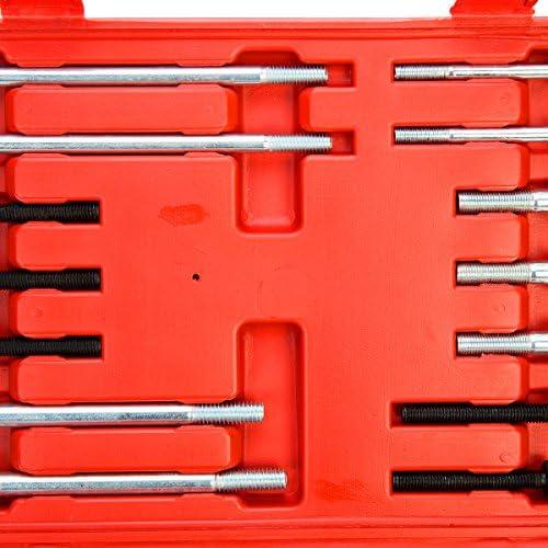 Extractor Universal para Volante 2//3 Brazos, Incluye malet/ín de Transporte FreeTec 46 TLG