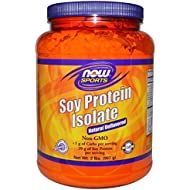 Now Foods Soy Protein Isolate Non-GMO Unflavored - 2 lbs. 2 Pack