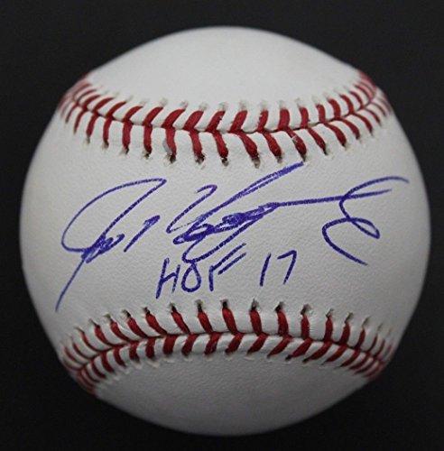 Ivan Rodriguez 'Pudge' HOF '17 Autographed Signed MLB Baseball JSA COA C ()