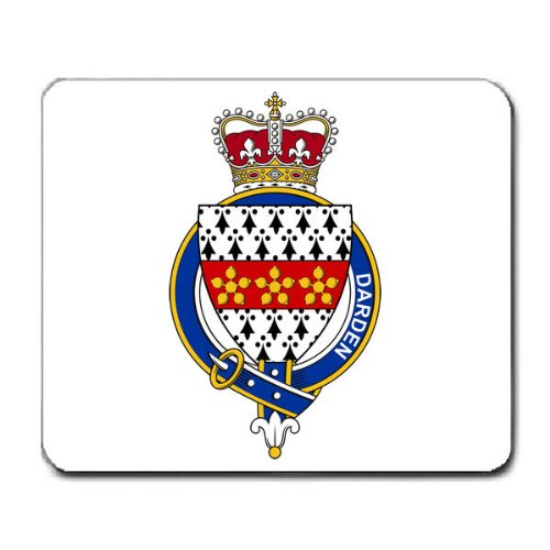 darden-or-ardern-england-family-crest-coat-of-arms-mouse-pad