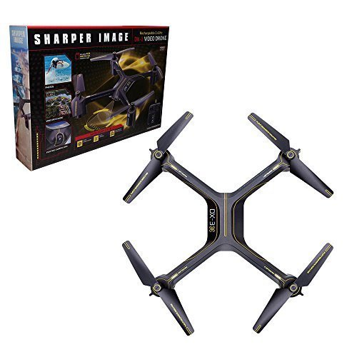 sharper-image-rechargeable-dx-3-video-drone-24-ghz