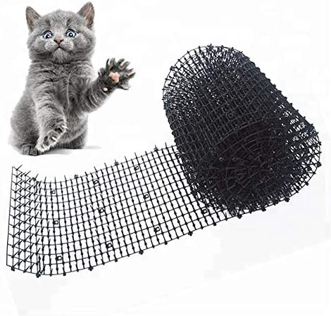 CHUJI Gran Pico del Gato for el jardín Tapones Gato Repelente Mat Perro Scat Mats for Sharp Dig Mat Prickle Strip Perros Gatos Animales Zorros: Amazon.es: Hogar