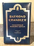 Raymond Chandler, Four Complete Philip Marlowe Novels - The Big Sleep - Farewell, My Lovely - The High Window - The Lady in the Lake Bonded Leather Binding