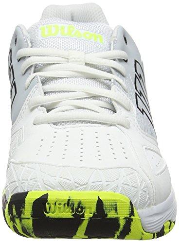 ideali giocatori Wilson bianco giallo perla tessuto Type Devo All sicurezza giallo Terrain 000 da Kaos Scarpe tennis per bianco offensivi sintetico uomo da 0w4pExXnqA