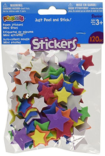 Star Foam (Darice Party Supplies, Assorted, 72 Each)