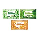 Zuci Wet Wipes (Pack of 3 Assorted - 45 Wipes Total)