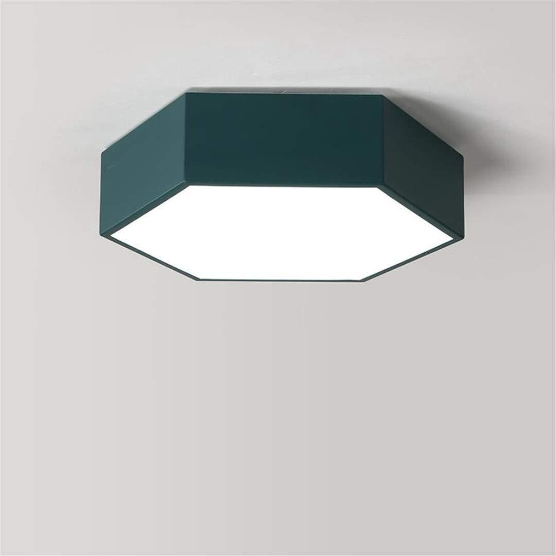 Amazon.com: ZM3 Lámpara de techo LED nórdica, diseño de ...