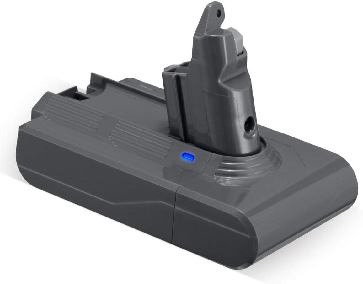 Upgraded V6 Battery 21.6V 3.5Ah Compatible with V6 Animal Absolute Fluffy Motorhead Slim V6 DC58 DC59 DC61 DC62 DC72 DC74 SV03 SV04 SV05 SV06 SV07 SV09 Handheld Vacuum
