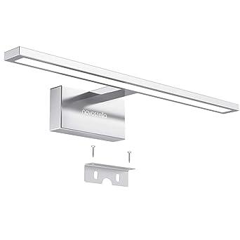 Novostella 10W Lampe Miroir Salle de Bains LED, Etanche, Blanc Froid ...