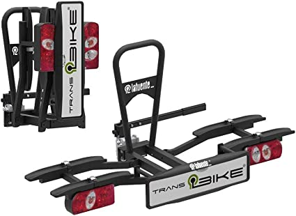 Portabicicleta para 2 bicis, completamente plegable, abatible, con ...